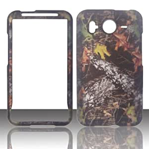2D Camo Stem HTC Inspire 4G, HD Desire G10 (UK, Canada) AT&T Case Cover Hard Phone Case Snap-on Cover Rubberized Touch Faceplates