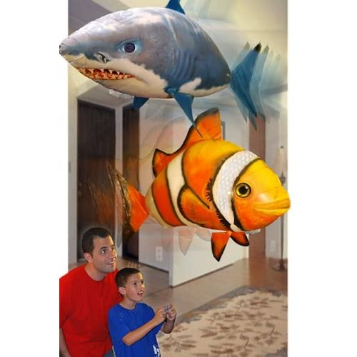 Top Air Swimmers Shark or Clownfish for cheap