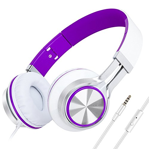 Girls Sound Intone HD200 Stereo Lightweight Folding Headsets with Microphone