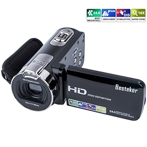 Camera Camcorders, Besteker HD 1...