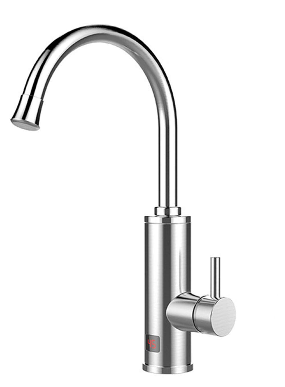 Electric Heating of Stainless Steel Electric faucet bath, kitchen stainless steel faucet,Electric heating of stainless steel