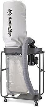 SUPERMAX TOOLS 1-1/2 Hp Dust Collector, Model:SUPMX-821200