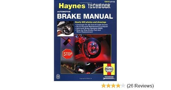 haynes automotive brake manual haynes manuals haynes rh amazon com Chilton Repair Manual Wiring- Diagram