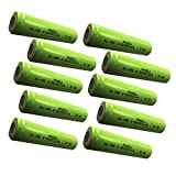 Rechargeable 4/3A a size battery 1.2v ni-mh battery 3800mAh Count :Pcs (10)