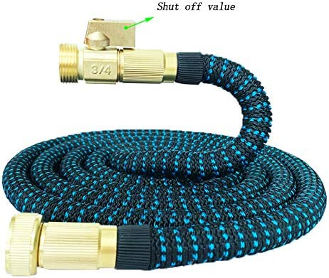 LBYSK Magic Telescopic Hose Pressure Soft Hose Shell Braided Material Protection and Durable Garden Irrigation Car Wash for Spray Water Cleaning,100FT