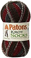 Kroy Socks Yarn-Grey Brown by Spinrite