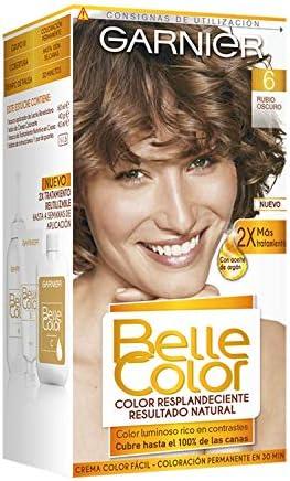 Garnier Belle Color Coloración, Tono: 6 Rubio Intenso