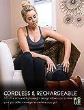 Zyllion Shiatsu Back & Neck Massager – Cordless