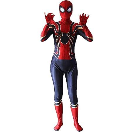 Medias De Impresión En 3D del Traje De Spiderman De Iron Jumpsuit ...