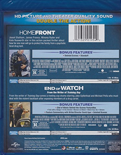 End of Watch / Homefront - Double Feature