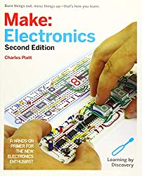 Image of the product Make: Electronics: that is listed on the catalogue brand of Maker Media book,.