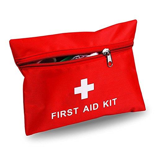 Erste Hilfe Tasche Camping Wandern Sport Täschen Bag für Reise Verletzungen & Notfälle - Pouch First Aid