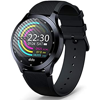 Smart Watch - Bluetooth Smart Bracelet Fitness Tracker with Heart Rate Activity Tracking Sleep Monitoring Waterproof Anti-Theft Long Battery Life and ...
