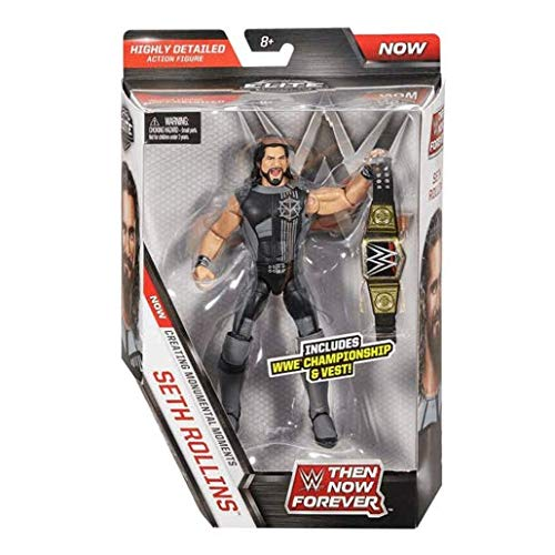 WWE Elite Collection Then Now Forever Seth Rollins Action Fi