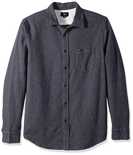 [해외]EY 남성 해링턴 레귤러 피트 짠 긴 소매/OBEY Men`s Harrington Regular Fit Woven Long Sleeve
