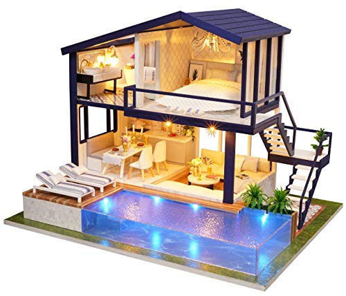 Used, Flever Dollhouse Miniature DIY House Kit Manual Creative for sale  Delivered anywhere in USA
