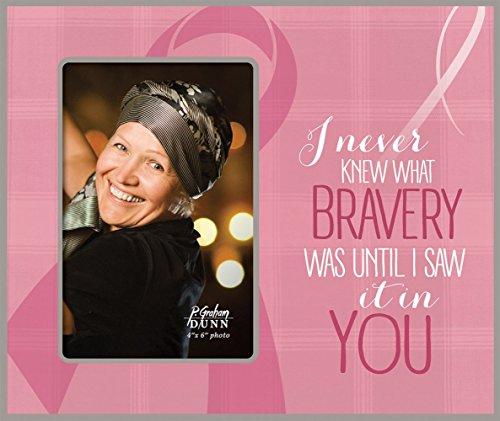P Graham Dunn Bravery Frame Photo Frame (Breast Cancer Awareness) FRP43 9.5 x ()