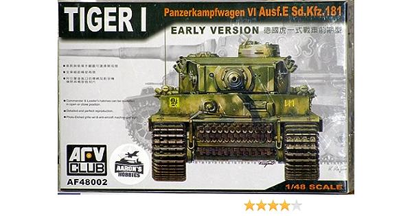 1//48 ABER 48 001 Sd.Kfz.181 Pz.Kpfw.VI Ausf.E Tiger I early vol.1 basic set