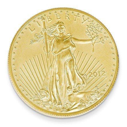 22ct 1 g Motif aigle américain JewelryWeb pièces