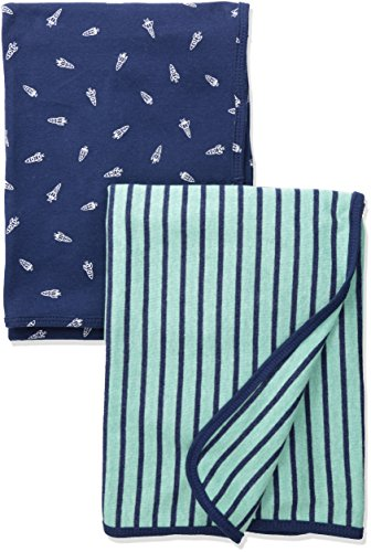 Price comparison product image Carter's Baby Boys Blankets 126g544,  Turquoise,  One Size Baby