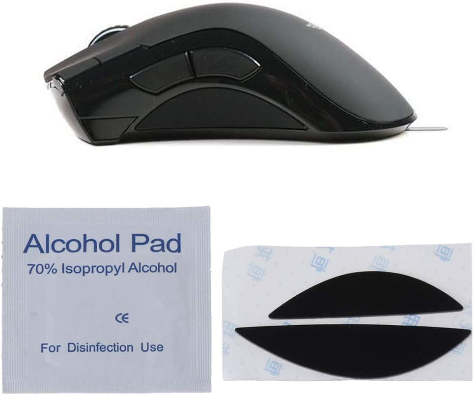 CUCUDAI 1Pc Side Pads Mouse Feet Mouse Skates for Razer Mamba 4G