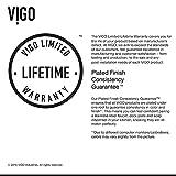 "VIGO VG02001STMB 19"" H Edison Single-Handle with"