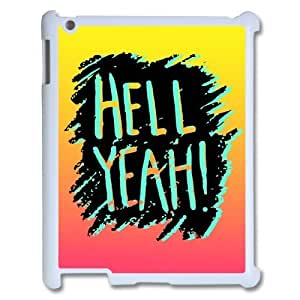 Custom New Cover Case for Ipad 2,3,4, HELL YEAH Phone Case - HL-519593