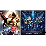 The Greatest Showman [Blu-ray + Digital Download] Movie Plus Sing-along + The Greatest Showman Audio CD original songs by Benj Pasek & Justin Paul + Extras + The Spectacle + Galleries + Music Machine