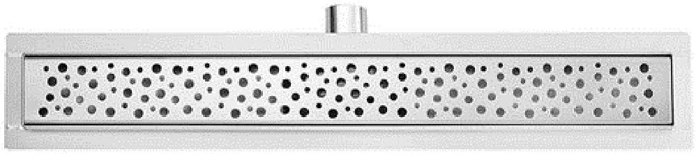 Caniveau de douche acier inoxydable de 50 cm le mod/èle 2 en 1