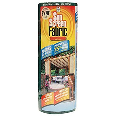 Bon Easy Gardener Sun Screen Fabric (Reduces Temperature Up To 15 Degrees,  Provides 75%