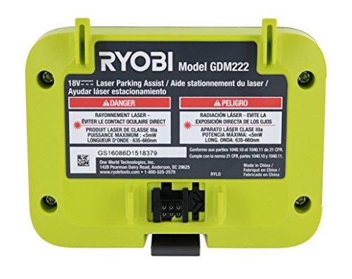 쇼핑365 해외구매대행 Ryobi GDM222 Garage Laser Parking Assist Module Accessory For  Ryobi Garage Door Openers