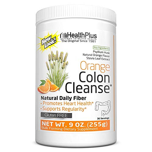 Colon Cleanse Stevia Orange Health Plus 9 oz Powder