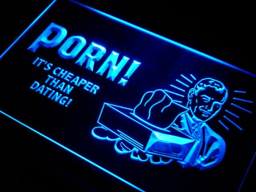 ADVPRO Cartel Luminoso i055-b Its Cheap Than Dating Sex ...