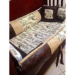 Stagecoach Cowboy Western Baby Bedding