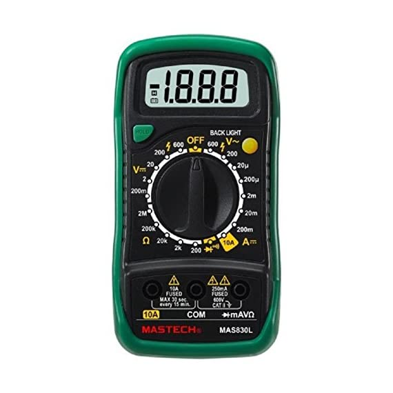 Mastech MAS830L Digital Pocket Multimeter (Assorted) 1