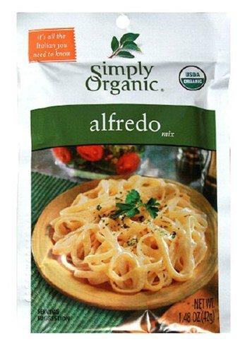 Simply Organic Alfredo Seasoning Mix, ORGANIC, (Simply Organic Alfredo)