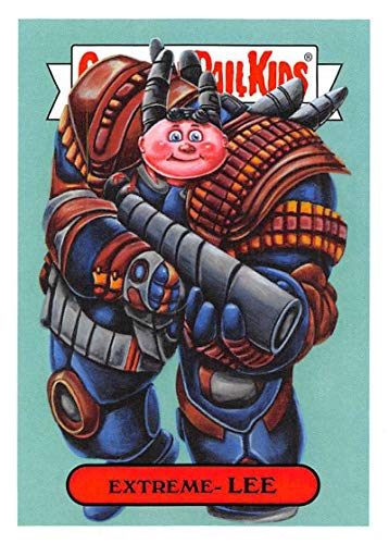 2019 Topps Garbage Pail Kids We Hate the '90s Cartoons and Comics Stickers A #10 EXTREME- LEE Peelable Collectible Trading Sticker Card (Comic Con)