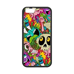 [Accessory] iPhone 6 Case, [creative pattern] iPhone 6 (4.7) Case Custom Durable Case Cover for iPhone6 TPU case(Laser Technology)