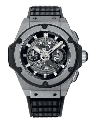 Hublot King Power Unico Skeleton Dial Titanium Mens Watch 701.NX.0170.RX