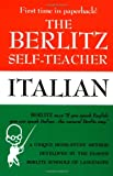 Berlitz Self-Teacher: Italian, Berlitz Editors and Joyce L. Vedral, 0399513256