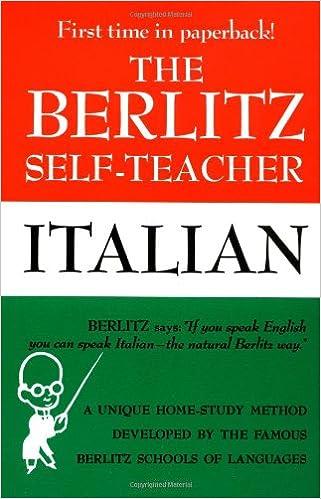 Italian (Berlitz Self-Teachers)