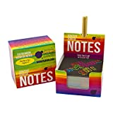 Rainbow Scratch Off Mini Notes + 2 Stylus Pens Kit: 150 Sheets of Rainbow Scratch Paper for Kids Arts and Crafts, Airplane or Car Travel Toys - Cute Unique Gift Idea for Kids, Girls, Women, or Anyone!