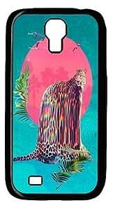 Jaguar Polycarbonate Hard Case Cover for Samsung Galaxy S4/Samsung Galaxy I9500 Black