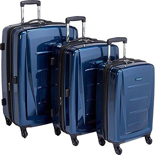 (Samsonite Winfield 2 Fashion Hardside 3 Piece Spinner Set - Deep Blue (56847-1277))