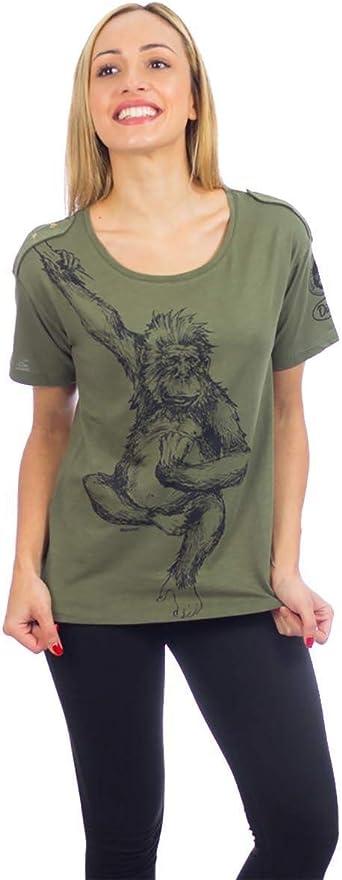 animosa Camiseta Dian Safari Verde Large Verde: Amazon.es ...