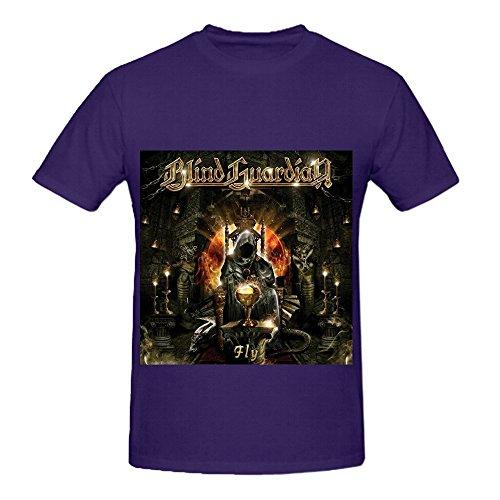 Blind Guardian Fly Soundtrack Men O Neck Funny Tee Shirts Purple