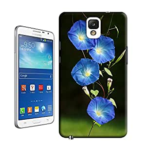 niucase blue morning glory picture of TPU new style scratch-proof covers for samsung galaxy note3