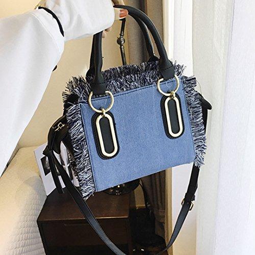 Meliya - Bolso mochila  para mujer azul oscuro