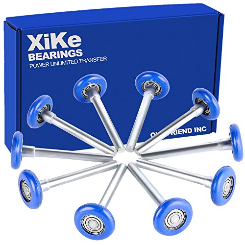 "XiKe 10 Pack 2"" in Nylon Garage Door Roller Use"