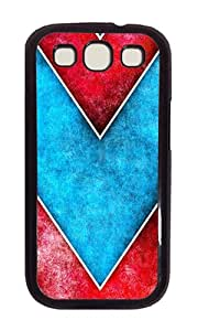 Samsung S3 Case,VUTTOO Cover With Photo: Art Deco Pattern For Samsung Galaxy S3 I9300 - PC Black Hard Case